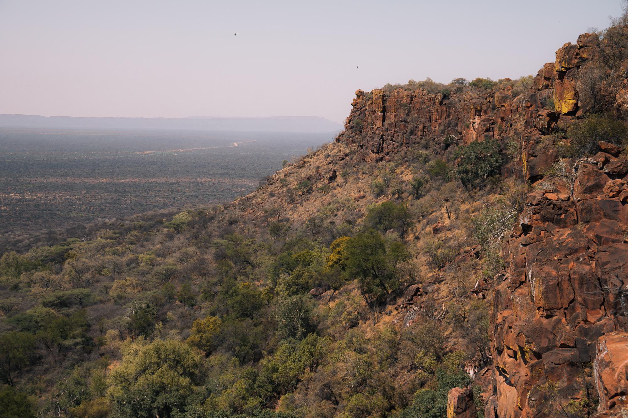 plateau du waterberg namibie